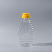 375g Frasco de garrafa de mel garrafa de mel de plástico garrafas de ketchup (EF-H10375)