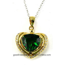 Сердце формы и нового сердца Мода стерлингового серебра 925 подвеска P4991g