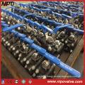 A105 Forged Steel NPT/Bw/Sw Threaded Ball Valve