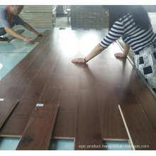 Anti-Slip Indoor Usage Asian Walnut Color Acacia Engineered Wood Flooring