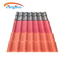 tuiles espagnoles de fibre de verre tuiles coloniales de toiture