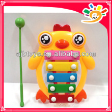 Kids Cartoon Chick Knocking Organ Musical Instrument Set Toy For Sale