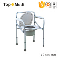 Adjustable Height Toliet Commode Chair for Handicapped and Elderly