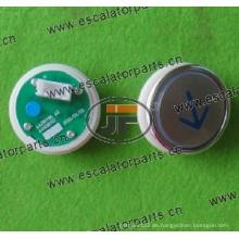 Sjec Aufzugs-Drucktaster A4N28797 / A4J28796A3 (SJBT01P4BDW)