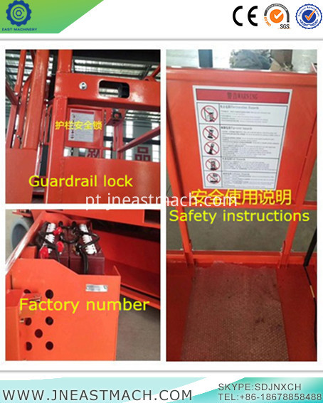 Aerial Work Platform Scissor Lift Part