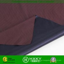 Tela tejida del telar jacquar del poliéster con la tela hecha punto para las ropas