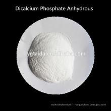 DCPA, Phosphate Dicalcique Anhydre, stabilisant, agent de levage, agent de friction, modificateur de qualité pour pain
