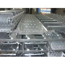 andamio de aluminio de la escalera del andamio fácil instalado en China