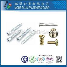 Taiwán Acero inoxidable 18-8 Cobre Latón Fabricantes Comunes Ltd Tipos de pernos especiales Tornillos de pernos y sujetadores