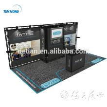 Detian Angebot 10x20 20ft Aluminium Ausstellungsstand Fachwerk Display