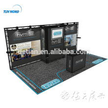 Detian Offer 10x20 20ft aluminium exhibition booth truss display