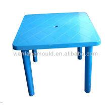 fabricante plástico del moldeado de la tabla en la fabricación del molde de la tabla de China del taizhou