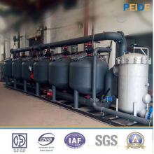 Filtre de médias de filtre de sable d'eau de refroidissement de 30-500t / H