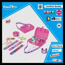 Diy perlas conjunto de juguetes para la niña con pdq cuadro perlas al por mayor
