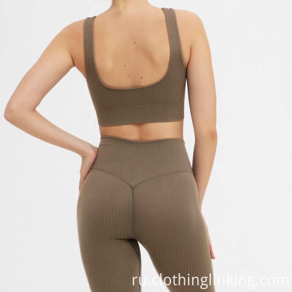 women's ribbed yoga outfits (3)