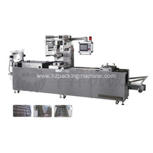 New style fully automatic multi-function continuous stretch date Thermoforming vacuum packing machine