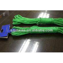 3-прядь веревки нейлона