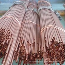 Tubo de cobre vermelho sem costura C12200 e C11000 e C12000