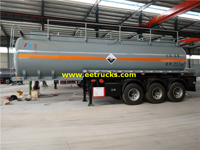 Tri-axle Nitric Acid Tank Trailers