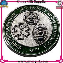 Moneda de desafío a medida con logotipo 3D