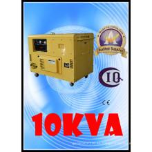 Generador eléctrico de bajo precio 8.5kw / 10kVA refrigerado por aire pequeño generador diesel silencioso
