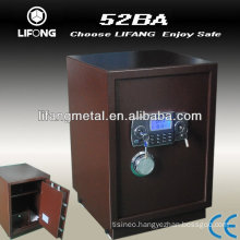 Double security home and hotel safe box bank