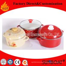 Enamel Stock Pot with Handle/Kitchenware Enamel Casserole