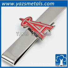 Anaheim angels tie bar, custom made metal tie clip with design