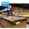 New Design Wall For Store Pusher Four Supermarket Shelf Display Store Shelves Supermarket