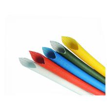 1.5kv High Temperature Colored Silicone Coated Braided Fiberglass Tube
