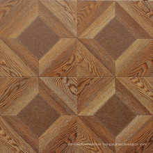 Commercial 12.3mm AC4 Embossed Oak Sound Absorbing Laminate Flooring