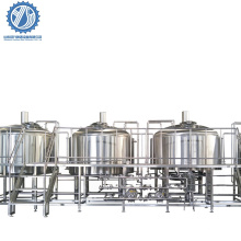 1000L 2000L SUS304 beer turnkey project for beer brewing system