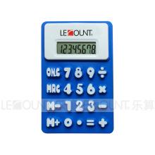 Cadeau de promotion 8 chiffres Calculatrice de silicium pliable avec aimant (LC510B)