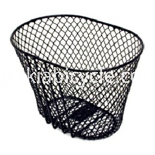 Black Basket with Handlebar