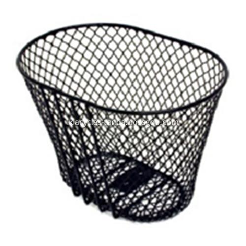 Black Basket with Handlebar