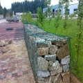 filet de protection de pente de gabion enduit de PVC