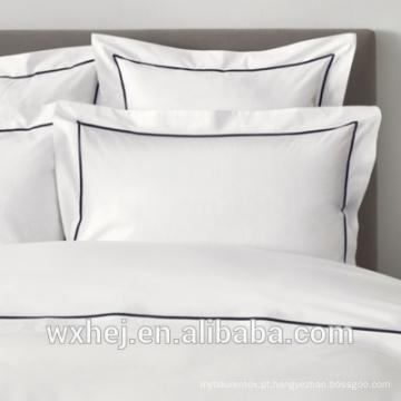 Caixa decorativa do descanso do bordado padrão do hotel do algodão 100% da fábrica