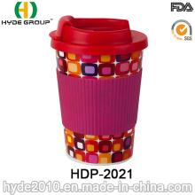 High Quality 10oz Travel Coffee Mug with TPR Sleeve (HDP-2021)