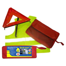 Safety Kit Used on Road Safety