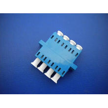 LC / PC Sm Adaptador Quad Fibra Óptica