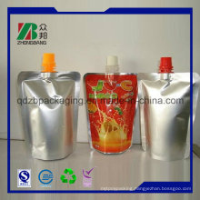 Plastic Foil Bag in Box with Spout or Valve