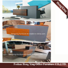 (HX-5N075) Winge Office Reception Counter Table Wooden MFC Office Furniture