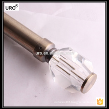 best quality crystal 28mm curtain caps