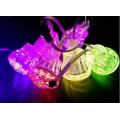 24 v 60 mm al aire libre 18 unids dmx diversión led módulo de luces del punto rgb ic ws2811 ucs1903 dj stand led pixel
