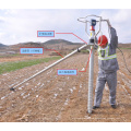 Length Customized Ground Screw Pole Anchor Solar Ground Mounting Systems
