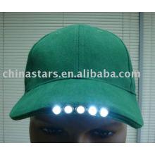 Sortierte Farbe Reflektierende LED-Lichtkugel-Sicherheitskappen