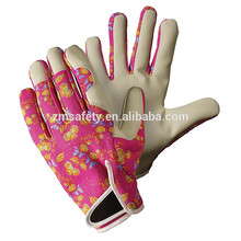 Womens/Ladies Oriental Floral Print Lady Gardener Gardening Gloves