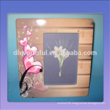 Modern design ceramic decorative frames,ceramic photo frame for home decoration