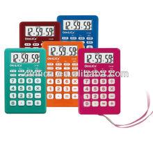 Jeweled Taschenrechner / Taschenrechner mit Wecker, Geschenkrechner mit Seil CA-89