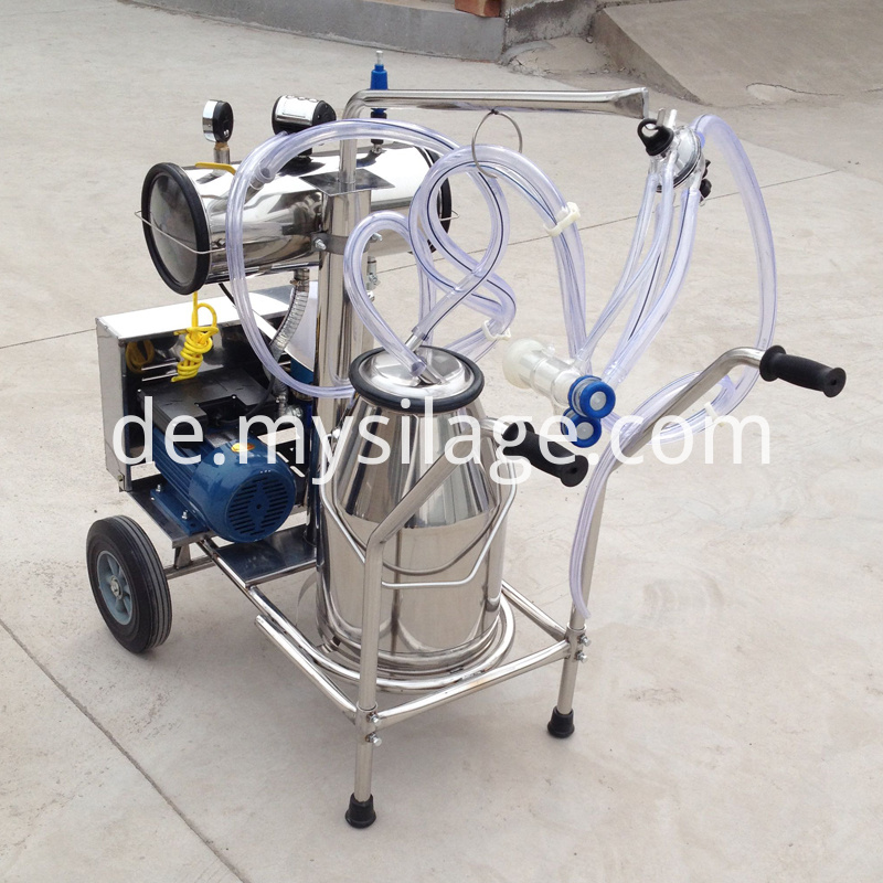 milking machine with pulsator